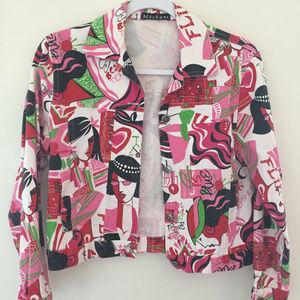 MECHANT vintage denim like jacket Small